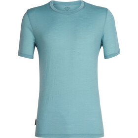 Icebreaker Tech Lite SS Crewe Shirt Herre hydro